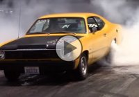 The Mopar Nationals burnout competition! Loud and clear!