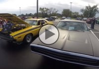 Mopar love! This couple owns 1970 Charger and Challenger R/T!