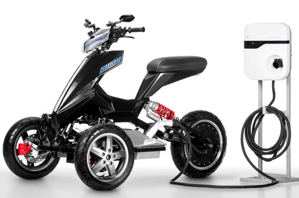 Sporty Tilting Electric Trike