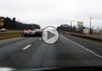 Street race goes wrong : 350z vs. 350z