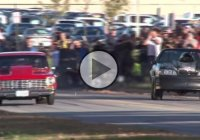 Nova vs. Mustang! Big block monsters with nitrous!