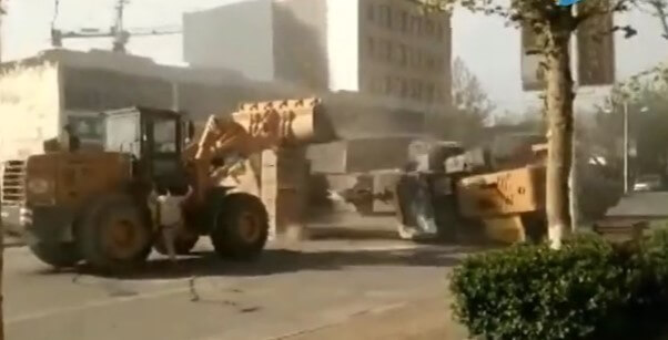 Crazy bulldozer