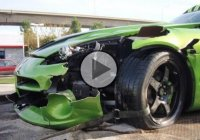 Dodge Viper GTS crash! Karma or poor driving skills?