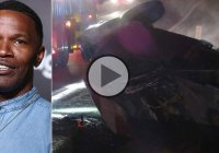 Jamie Foxx rescued a man from a burning truck, in real life!