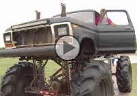 8 feet tall monster truck as a rescue vehicle? Why not!