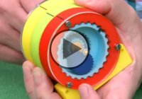 3D Printed Extreme Reduction Gearing – 11 Million To One Gearing!