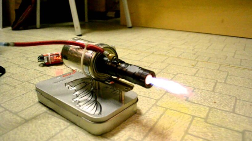 Miniature Jet Engine