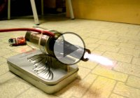 Demo Version Of a Homemade Miniature Jet Engine!