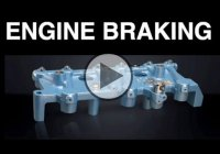 What Is Engine Braking And a Jake Brake?