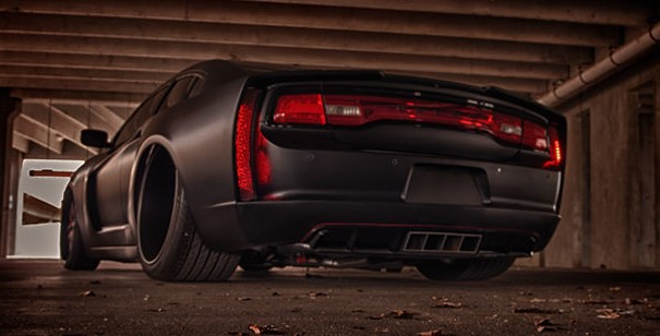 Dodge Charger custom wide body