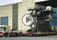 Starting The World's Largest Diesel Engine!