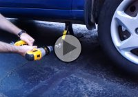 Car Jack Hack – The Smartest, Easiest & Fastest Way To Change A Tire!