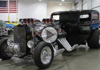 "1932 Ford Sedan Delivery ""Twice Blown"" at Pigeon Forge 2016!"