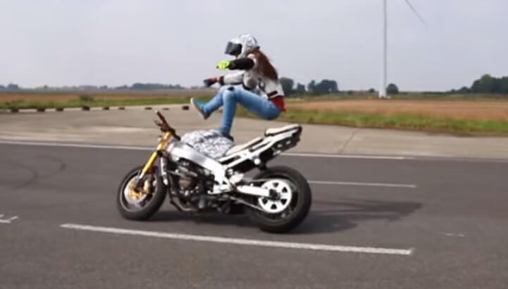Becoming stunt rider
