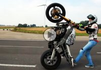 Becoming stunt rider is very hard….