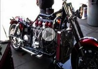 Boss Hoss motorcycle is powered by the huge LS 430 – 706 HP !