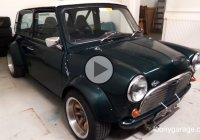 Cool Mini powered by a Honda bike engine is a real beast!