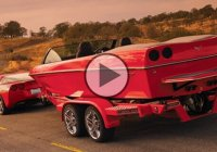 2008 Corvette inspired boat for the ultimate Corvette fan!