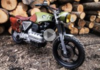 Custom BMW K100 Scrambler – Unique, stylish and dangerous!