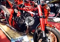 Custom Streetfighter Suzuki GSX 'Miss Fire' is on fire!!!