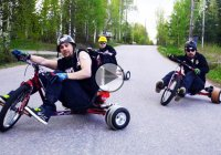 Drift trike mayhem – Amazing trike chaos in action!