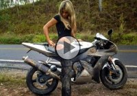 Hilarious fail compilation – Girls on motorbikes!
