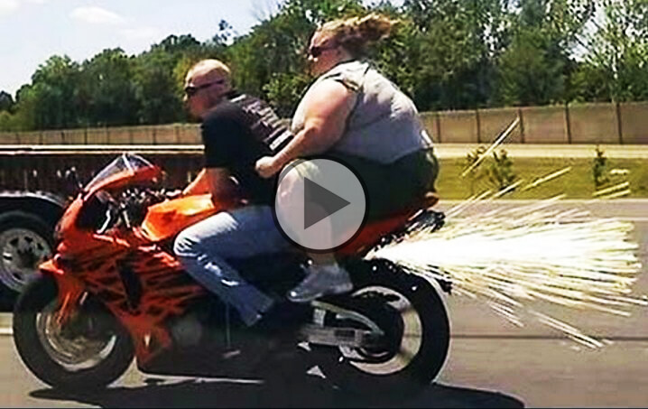 Hilarious motorcycle crashes