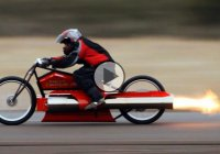 Pulse jet Engine Harley Davidson – The fastest one in the world!!!