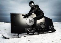 Sno Ped – The coolest Snowmobile you'll ever see!!!