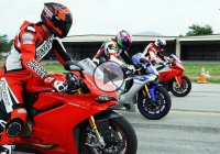 Three best superbikes of 2015 battle it out on the dragstrip!