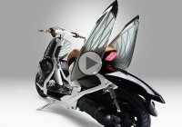 Yamaha 04GEN Concept – The scooter with dragonfly wings!