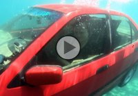 How to escape a sinking car! These are the crucial steps!