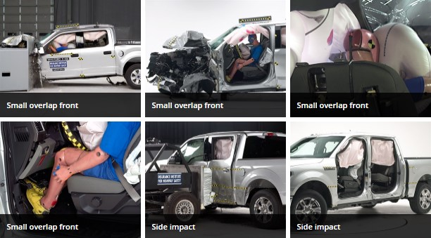 Top safety rating - Ford F150