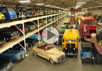 Harold Lamay's family inherited his classic car collection!!