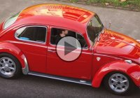 Sleeper Volkswagen Beetle on Porsche Fuchs alloys!!