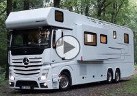 Vario Alkoven 1200 – the ultimate luxurious camping truck!