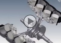 Unique Ducati Elenore V8 Engine – Needs Only One Crank Throw and Two Rods!