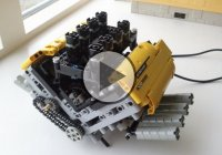 This is Amazing – LEGO V8 Pneumatic Engine!!