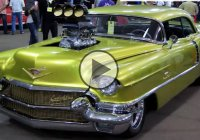1956 Cadillac Coupe De Ville with a supercharged big block Chevy!
