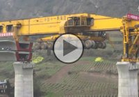 Amazing Bridge Building Machine – Chinese Bridge Construction Machinery!