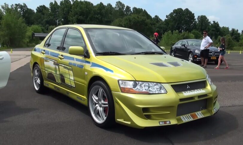 2 fast 2 furious evo - paul walker's mitsubishi has a new owner!