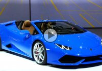2017 Lamborghini Huracan goes from coupe to a topless beauty!