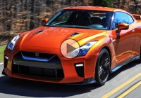 2017 Nissan GTR supercar finally hits the track !