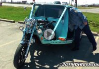 Cougar Cycle – Mercury Cougar turned into a motorcycle!