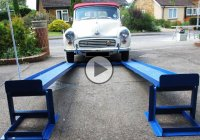 DIY car lift MR1 is the most adjustable car lift you can get!