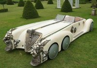 League of Extraordinary Gentlemen Car – The Nautilus Car