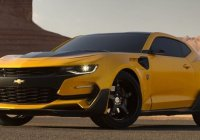 The new Bumblebee Camaro autobot is looking sick!!
