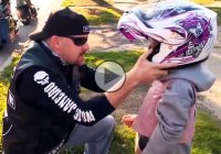 The Punisher biker club helped a bullied 7 year old girl!