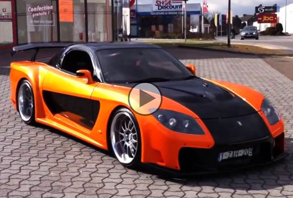 VeilSide RX7 for sale  as Fast and Furious as it gets