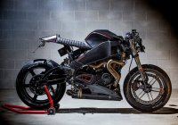 Custom Buell XB9 Cafe Racer is a real street hooligan!